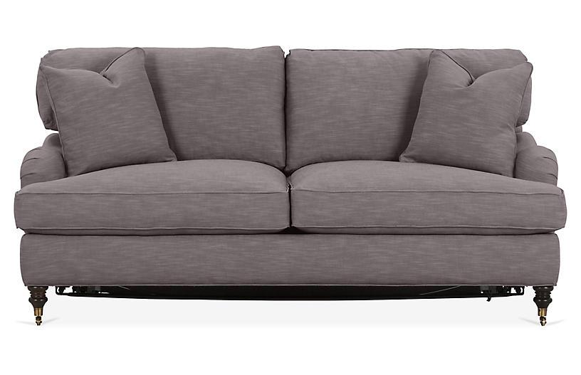 Prime Brooke Sleeper Sofa Charcoal Crypton Uwap Interior Chair Design Uwaporg