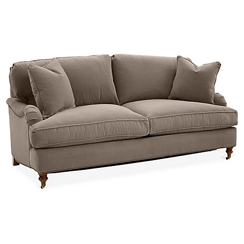 Brooke Sleeper Sofa, Café Crypton