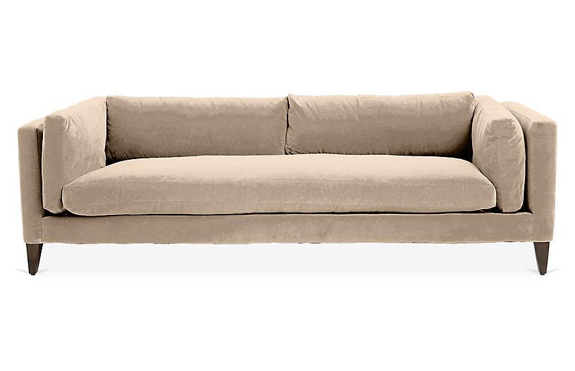 Everleigh Sofa, Bisque Crypton