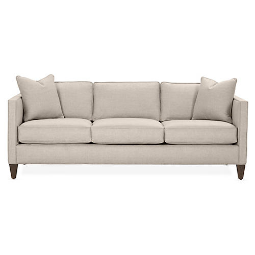 Cecilia Sleeper Sofa, Greige Crypton