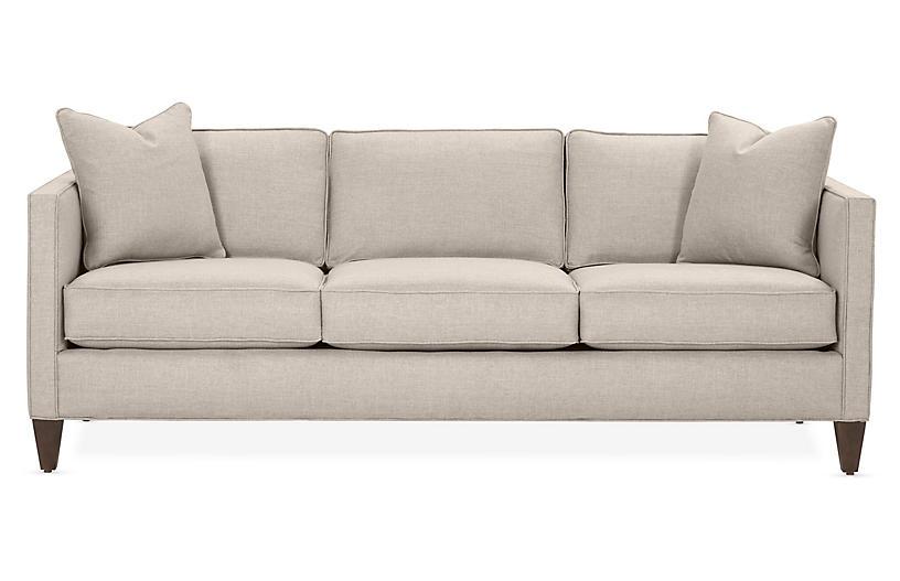 Cecilia Sleeper Sofa, Greige Crypton