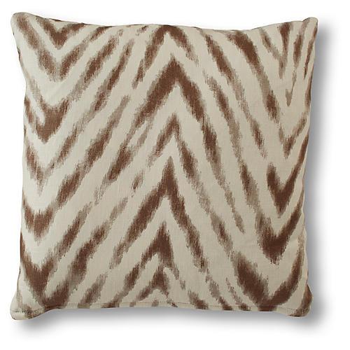 Victoria Pillow, Almond Linen