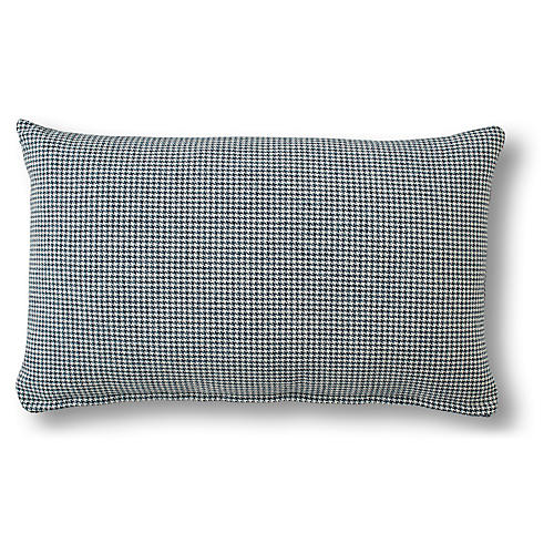 Laura 15x25 Lumbar Pillow, Federal Blue