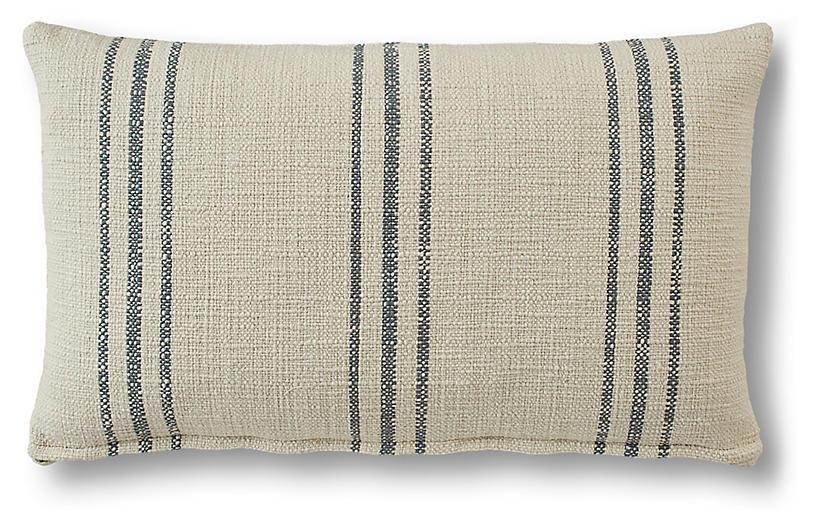 Katherine 15x25 Lumbar Pillow, Adraitic Green