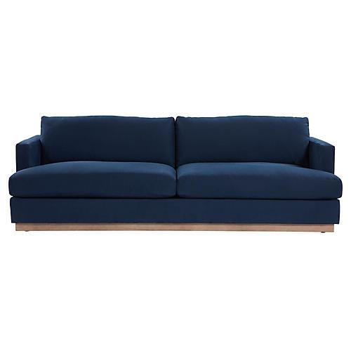 Forbes Sofa, Blue