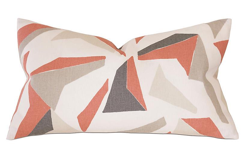 Sconset Decorative Pillow, Orange