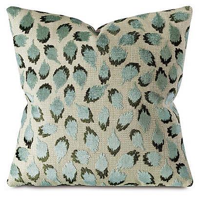 Trinka Pillow, Spa Green