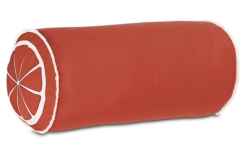 Citrus Outdoor Pillow, Orange