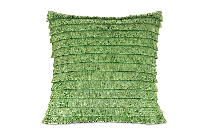 Faye 20x20 Outdoor Pillow, Green