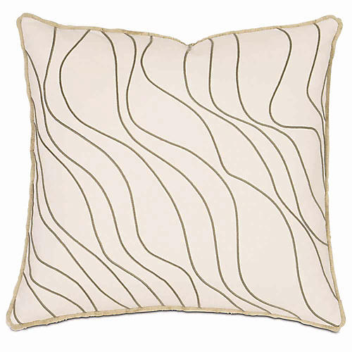 Adler 20x20 Pillow, Ivory