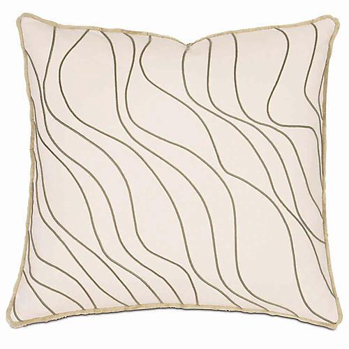 Adler 20x20 Pillow, Ivory