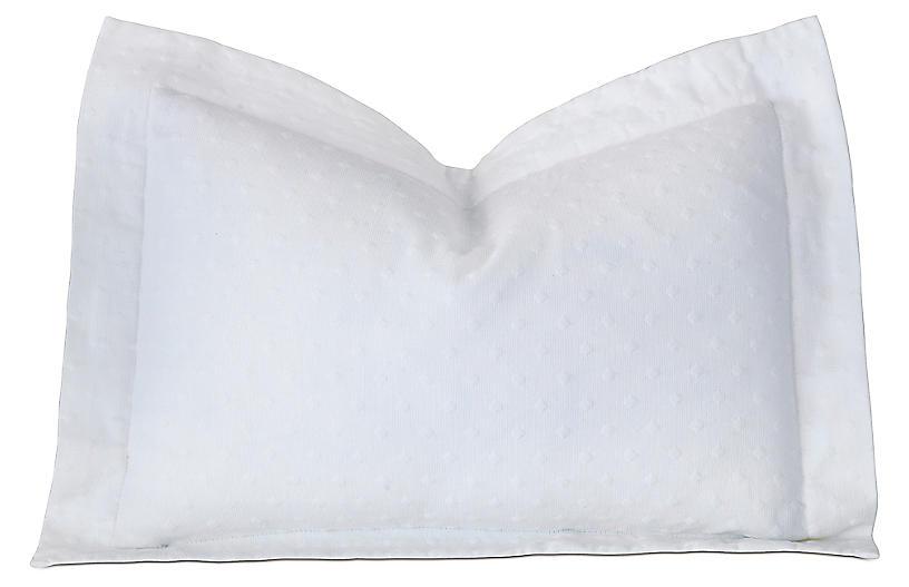 Sweetness Boudoir Sham, White