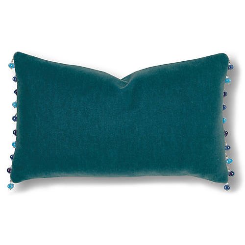 Hamp 13x22 Pillow, Teal