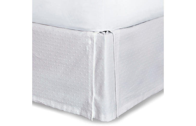 Sweetness Bed Skirt, White