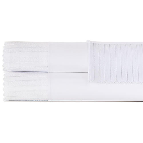 Abingdon Sheet Set, White