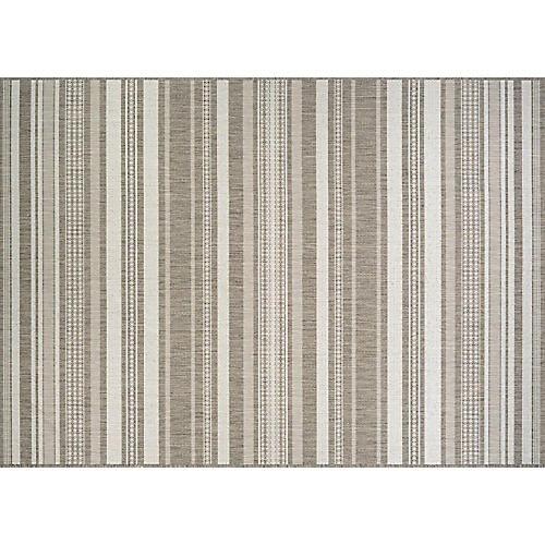 Ismo Outdoor Rug, Champagne/Taupe