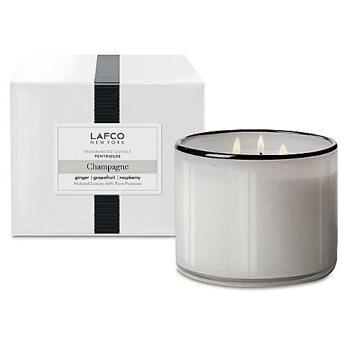 3-Wick Candle, Champagne