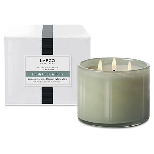 3-Wick Candle, Fresh-Cut Gardenia
