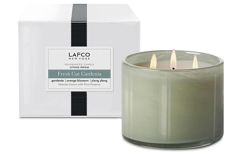 3-Wick Candle, Fresh-Cut Gardenia