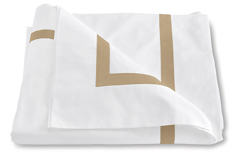 Lowell Duvet Cover, Champagne