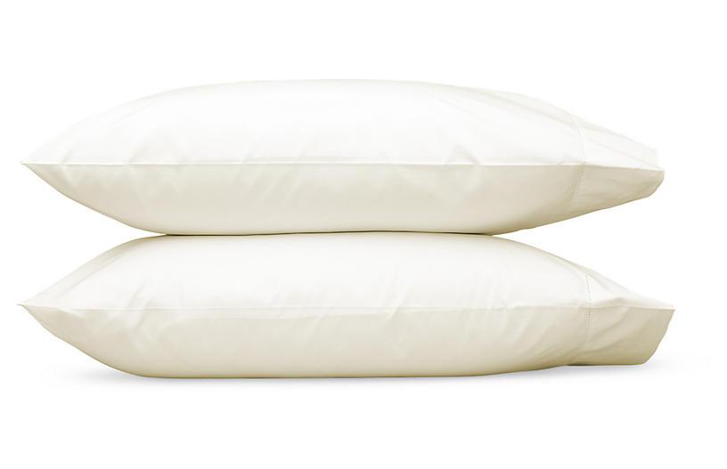 Luca Hemstitch Pillowcases