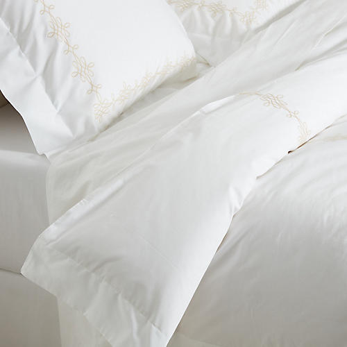 King Bernini Duvet Set, Champagne