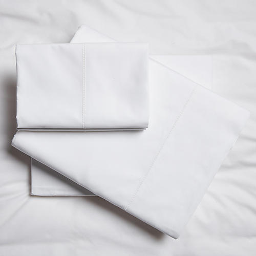 Vittorio Sheet Set, White