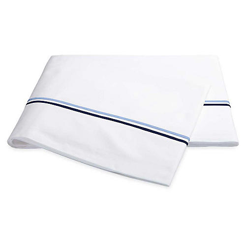 Essex Flat Sheet, Navy