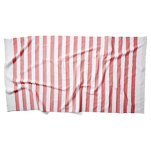 Amado Beach Towel, Red