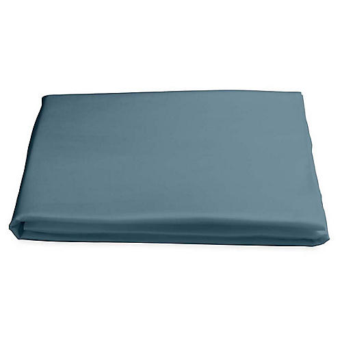 Nocturne Fitted Sheet, Deep Jade