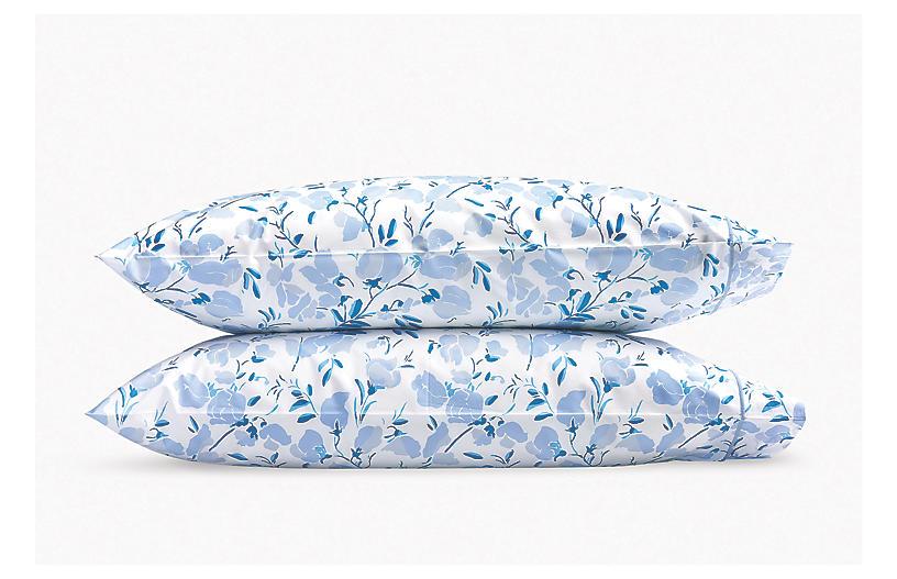 S/2 Alexandra Pillowcases, Sky