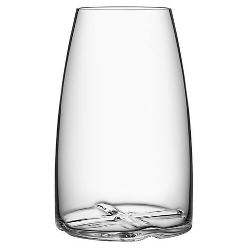 """8"""" Bruk Vase, Clear"""