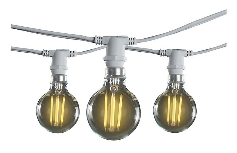 Finn 15-Pc String Lights, White