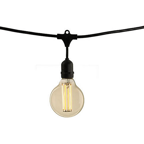 Brooklyn String Lights, Black