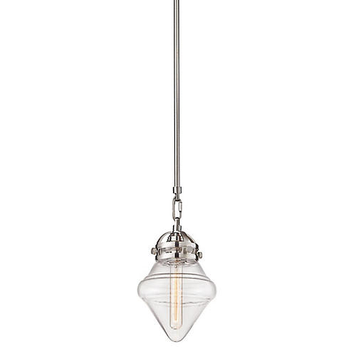 Mesner Pendant, Satin Nickel