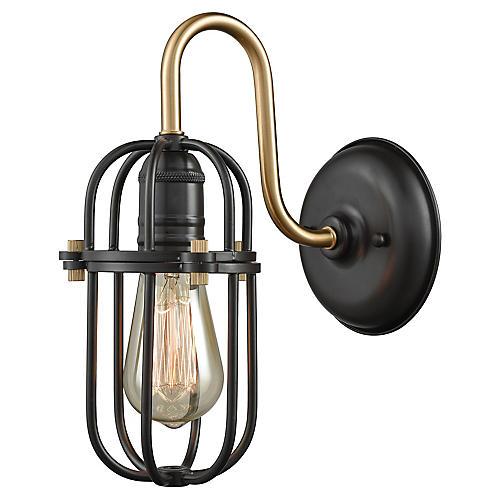 Cormio Sconce, Bronze/Brass