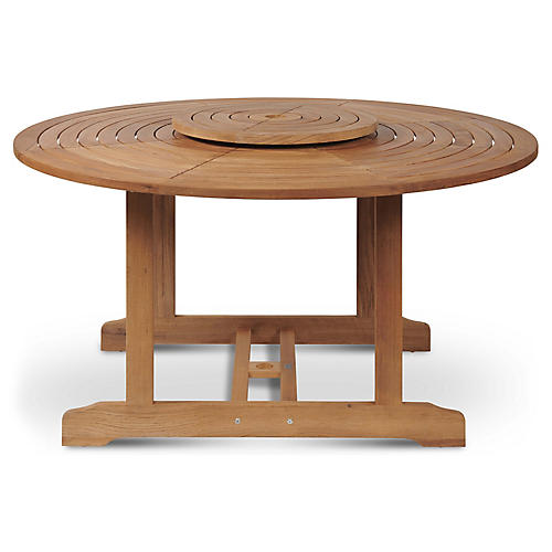 Royal Dining Table, Natural