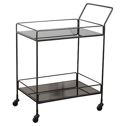 Dixon Bar Cart, Charcoal