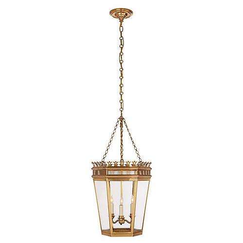 Warwick Lantern, Burnished Brass