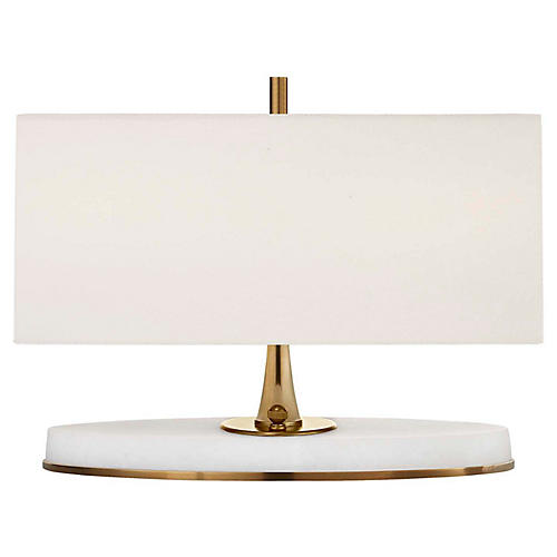 Casper Desk Lamp, Antiqued Brass
