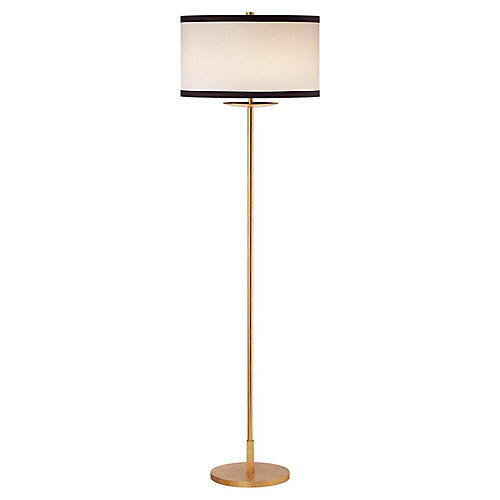 Walker Floor Lamp, Gold