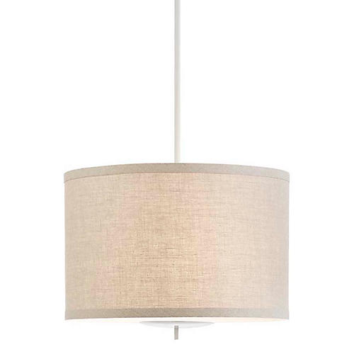 Walker Hanging Shade, Light Cream/Natural