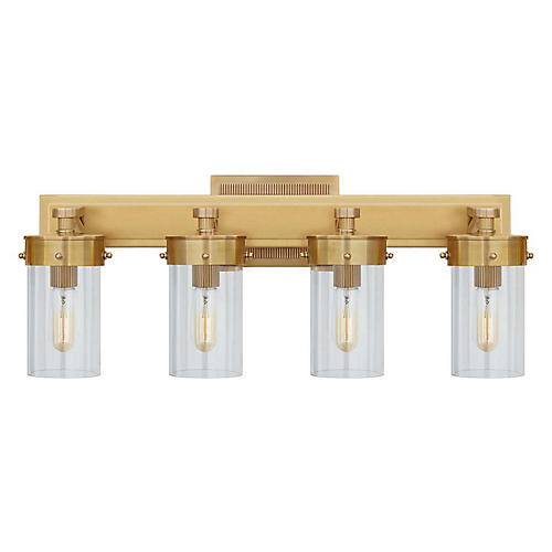 Marais Sconce, Hand-Rubbed Antiqued Brass
