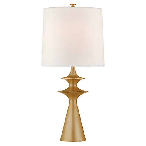 Lakmos Table Lamp, Gild