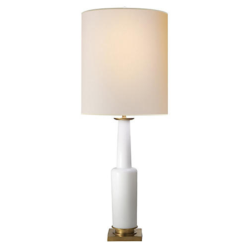 Fiona Small Table Lamp, White