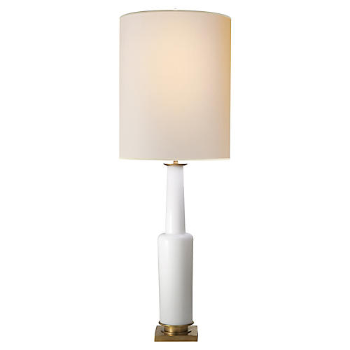 Fiona Table Lamp, White