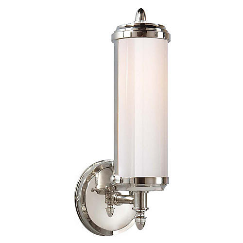 Merchant Sconce, Chrome