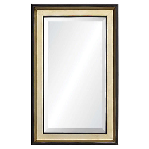 Rosie Wall Mirror, Brushed Bronze