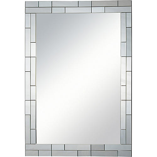 Caya Wall Mirror, Clear