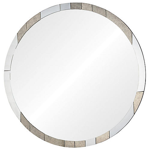 Garner Wall Mirror, Antiqued